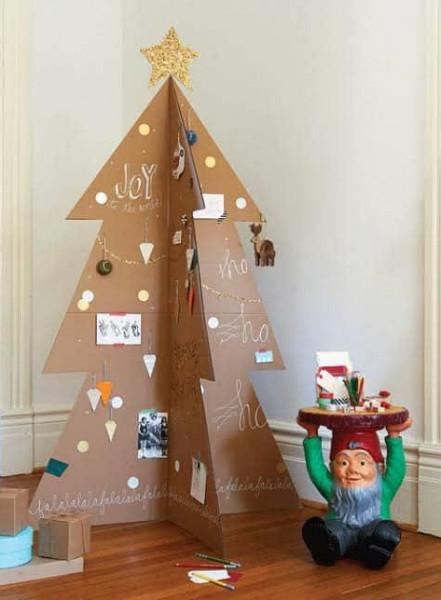 """طريقتان لصناعة شجرة الكريسماس في المنزل بـ""""بساطة"""" 1"""