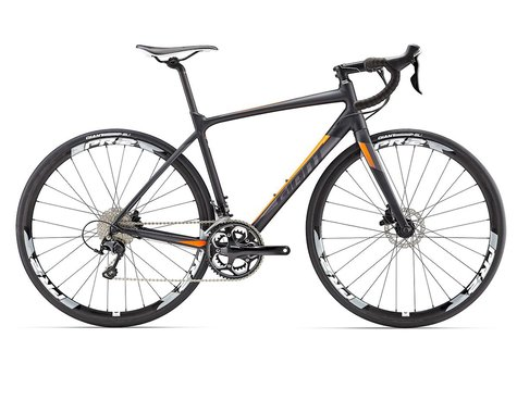 Giant 2017 Contend SL 1 Disc (Black/Orange) [70002614