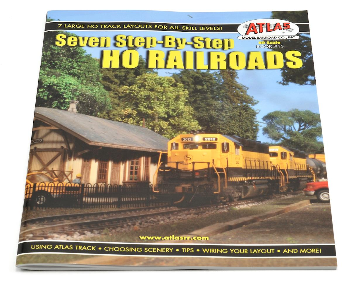 hight resolution of atlas railroad 7 step by step ho railroads book