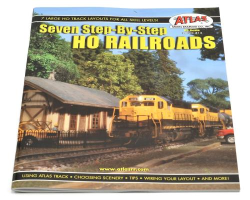 small resolution of atlas railroad 7 step by step ho railroads book