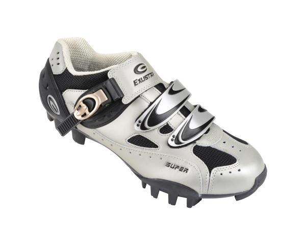 Exustar Sm321 Mountain Shoes Silver Black Ys-sm321-sv