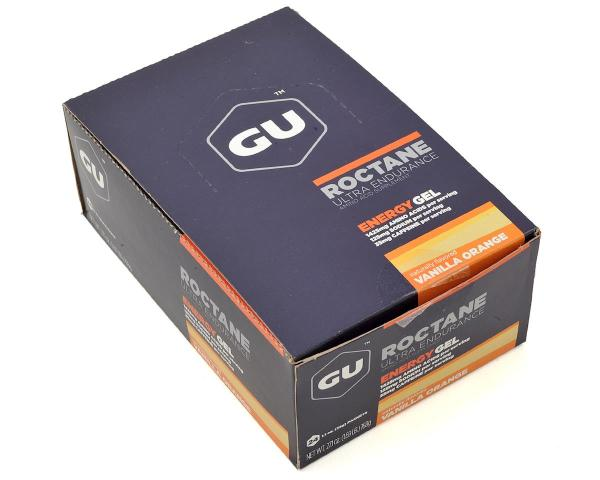Gu Roctane Gel Vanilla-orange 24 051 Accessories - Amain Cycling