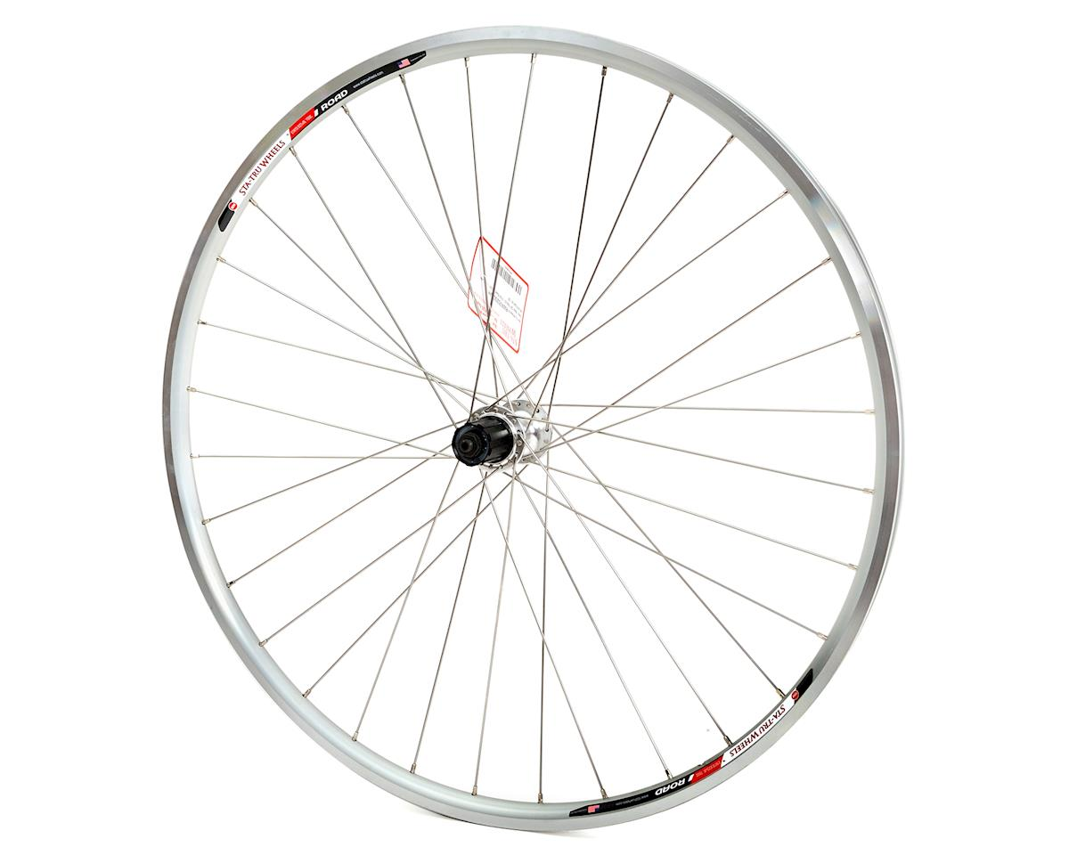 Sta-Tru Road Alloy Rear Wheel (9/10 Speed) (Silver