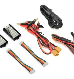 hitec x2 ac plus black edition ac dc multi charger 6s 10a 100w hrc44270 cars trucks amain hobbies [ 1200 x 960 Pixel ]