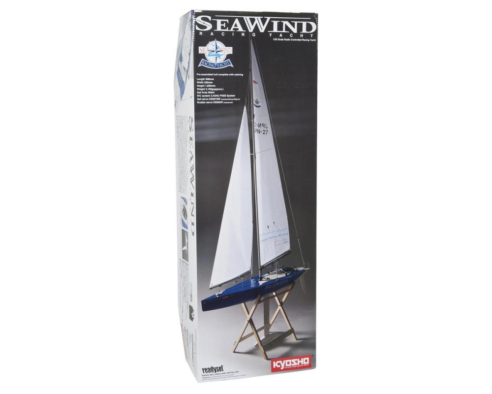 medium resolution of kyosho seawind readyset racing yacht kyo40462s b boats amain hobbies