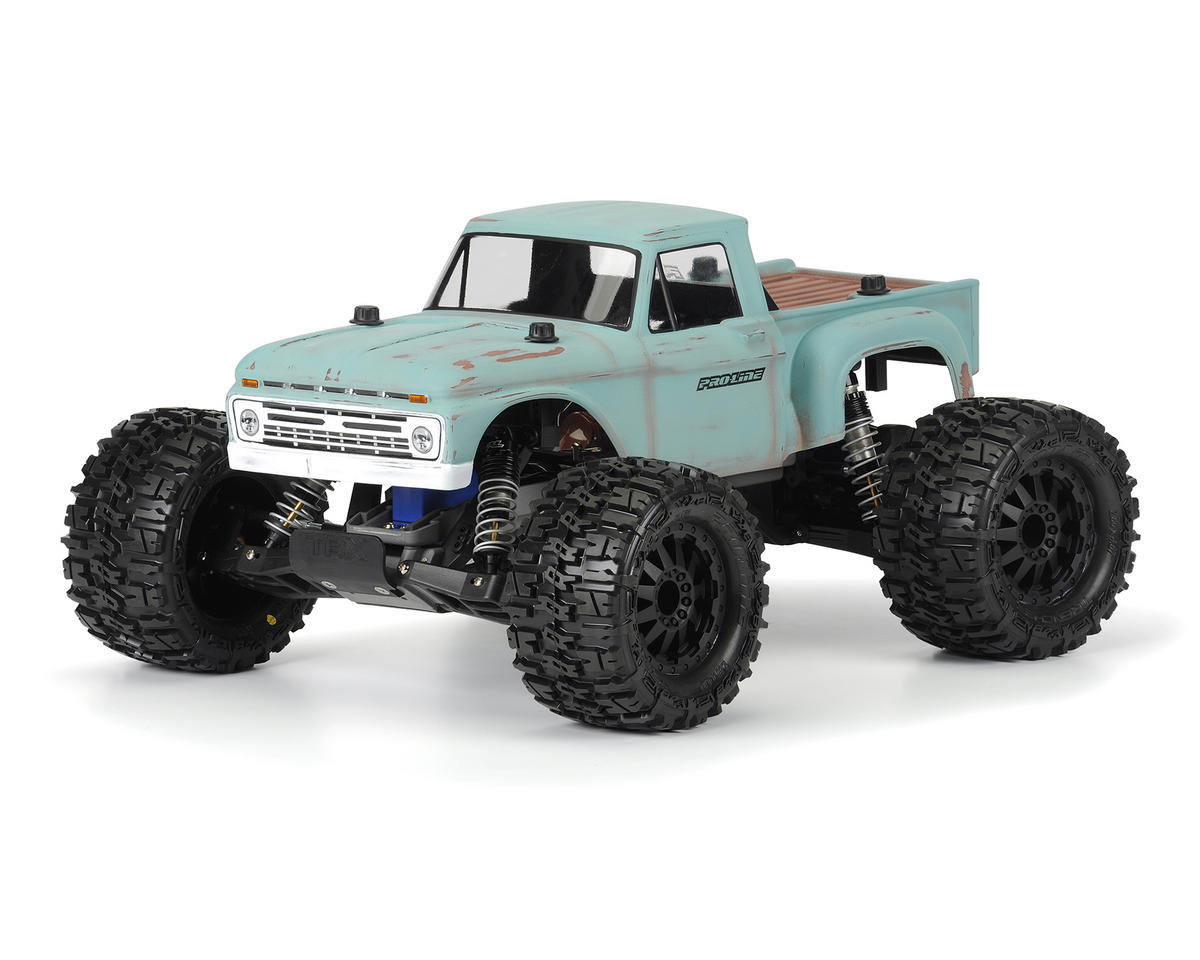 hight resolution of pro line 1966 ford f 100 truck body clear pro3412 00 cars trucks amain hobbies