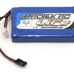 protek rc life 3pk m11 car transmitter battery pack 9 9v 1600mah  [ 1200 x 960 Pixel ]