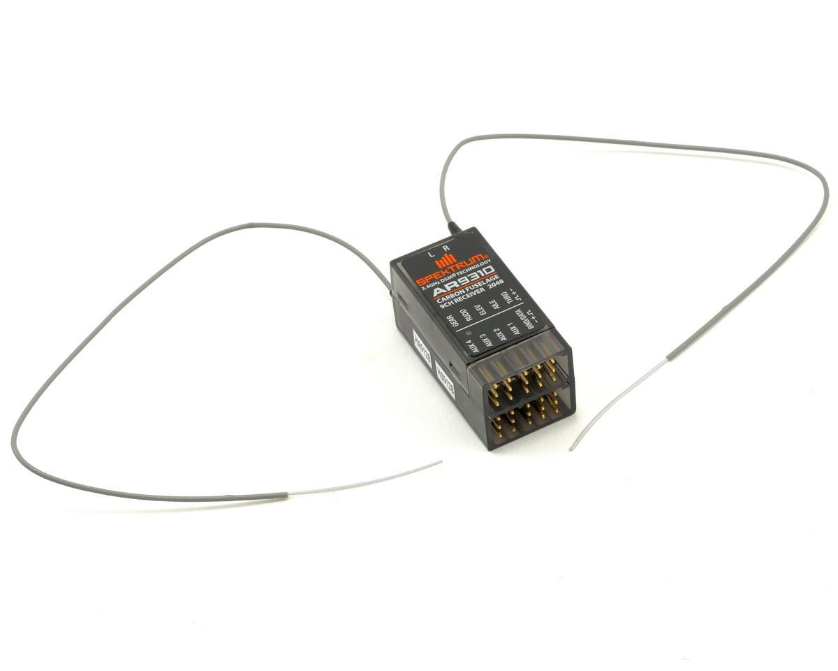 Spektrum RC AR9310 DSMX 9-Channel Carbon Fuselage Receiver