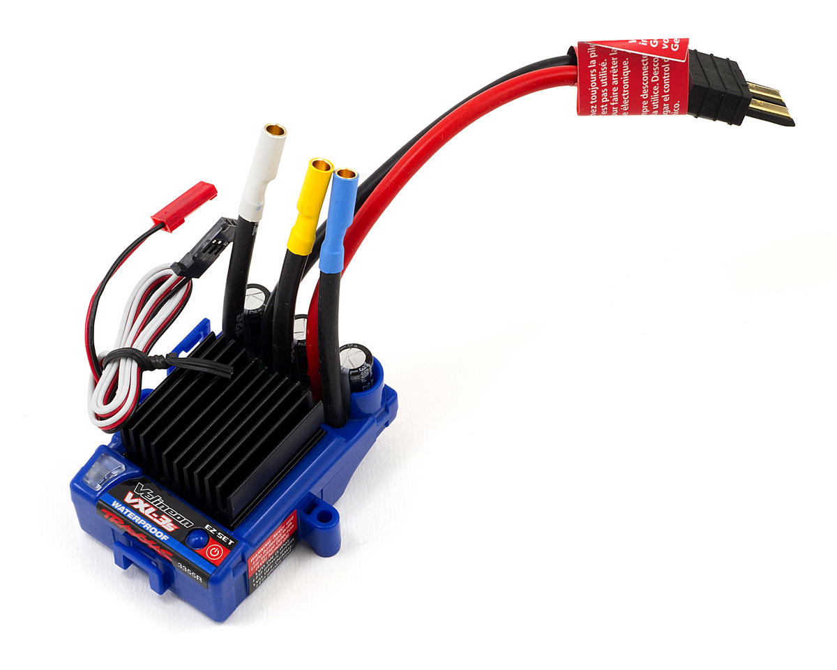small resolution of traxxas vxl 3s brushless esc waterproof tra3355r cars trucks xl 5 esc wiring diagram
