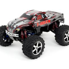 Traxxas T Maxx 3 Parts Diagram Jeep Wrangler Trailer Wiring 4wd Rtr Nitro Monster Truck Black