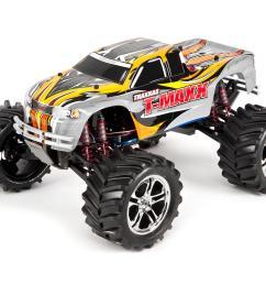 traxxas t maxx classic rtr monster truck white tra49104 1 wht cars trucks hobbytown [ 1200 x 960 Pixel ]
