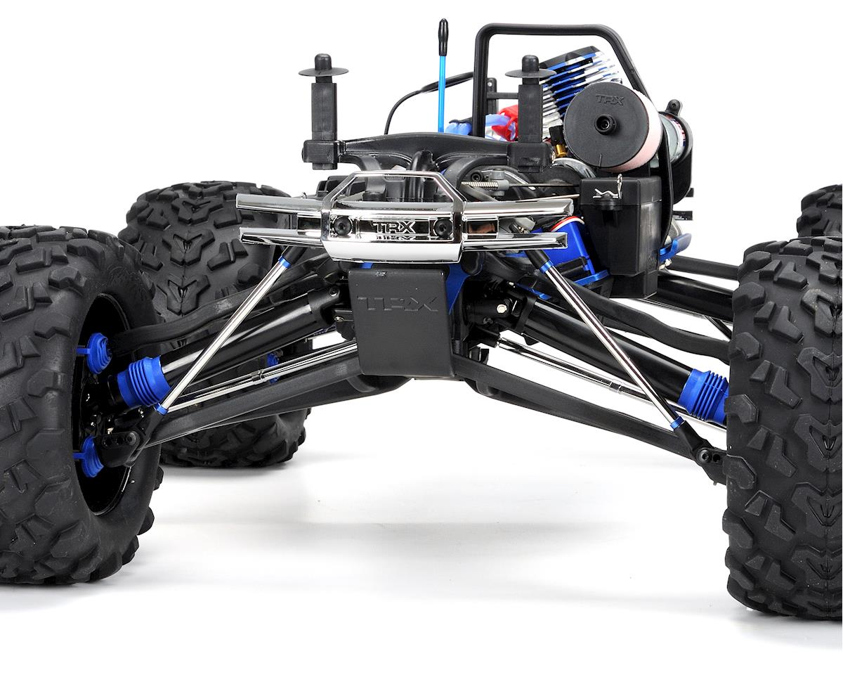 traxxas revo 3 parts diagram air conditioning wiring 4wd rtr nitro monster truck w tqi silver