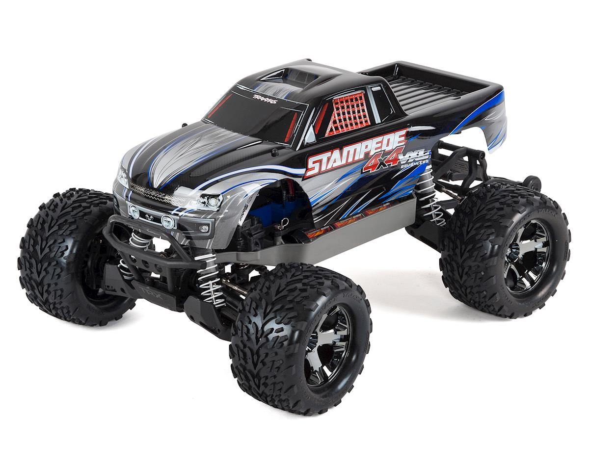 Traxxas 1 10 Scale Stampede 4x4 Vxl 4wd Brushless Monster Truck