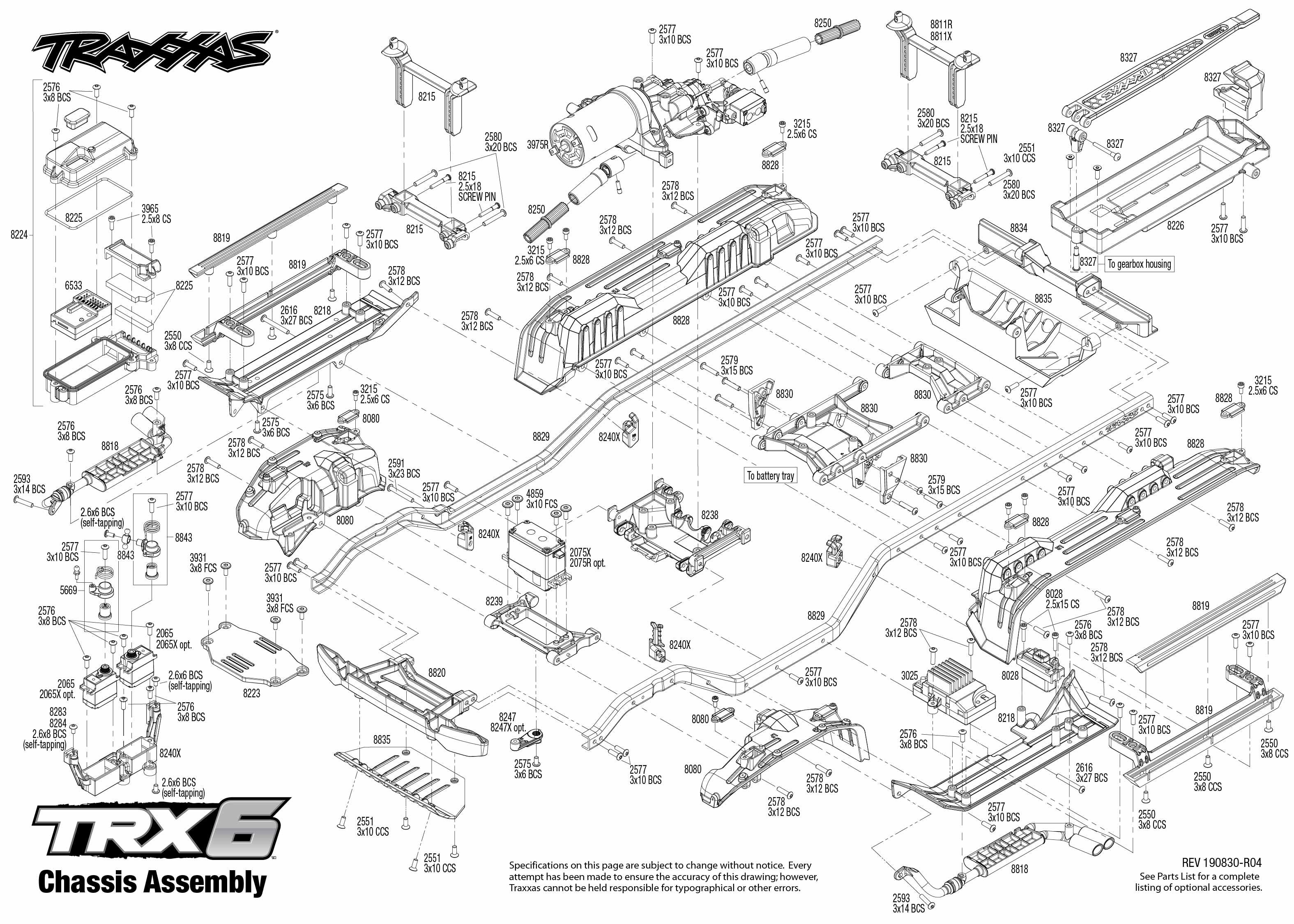 알씨야닷컴 Traxxas TRX-6 Mercedes-Benz G 63 AMG 1/10 6X6 RTR