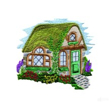 Cottage Embroidery Designs
