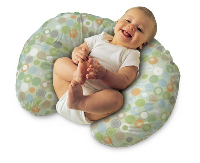 Amazoncom  Boppy Pillow with Slipcover Lots O Dots