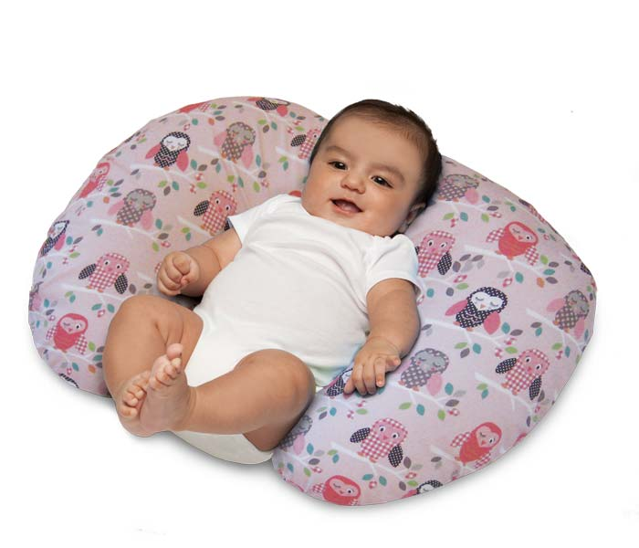 Amazoncom  Boppy Pillow with Slipcover Owls  Breast
