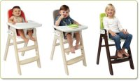 Amazon.com : OXO Tot Sprout Wooden Chair, Green/Walnut ...