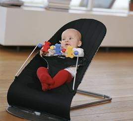 infant bouncy chair black leather desk amazon.com : babybjorn baby sitter 1-2-3 activity bouncer, gingham (discontinued by ...
