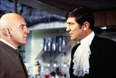 James Bond must face arch enemy Ernst Stavro Blofeld again in On Her Majesty's Secret Service