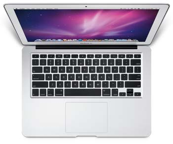 13.3-inch Apple MacBook Air keyboard