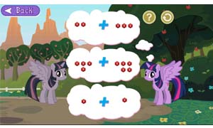 Solve word problems and outsmart Discord's ponies.