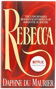 Rebecca by Daphne Dy Maurier book cover
