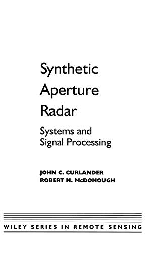 [PDF] Synthetic Aperture Radar: Systems and Signal