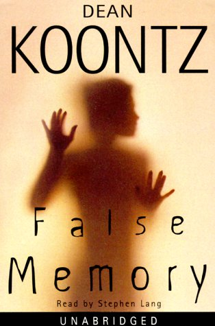 Image result for False memory dean koontz