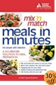 MIX'N MATCH MEALS IN MINUTES FOR PEOPLE WITH DIABETES