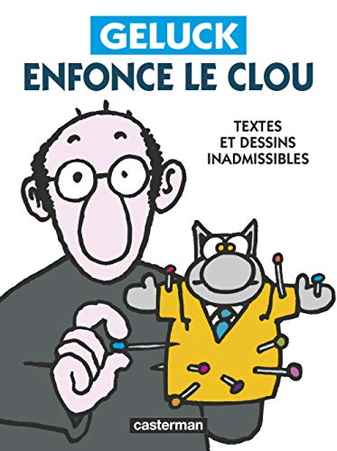 Book's Cover of Geluck enfonce le clou