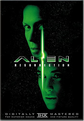 Alien Resurrection DVD cover