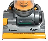 Dyson DC 07 All Floors Upright Vacuum, Steel Yellow