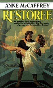 Restoree by Anne McCaffrey book cover