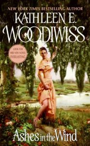 Ashes in the Wind by Kathleen E. Woodiwiss Cover