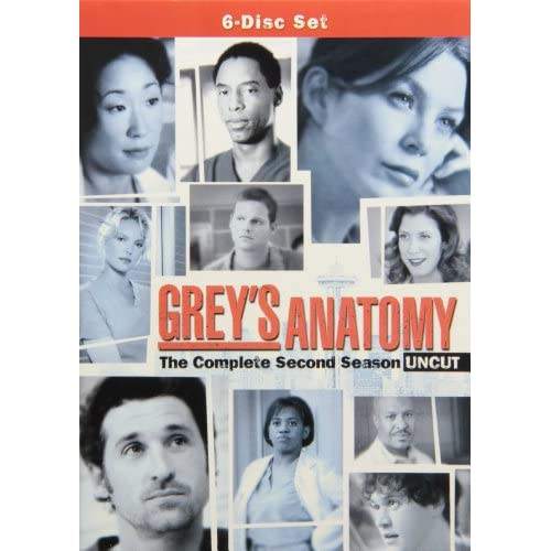 Grey's Anatomy - Season 2 Box Art