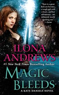 Magic Bleeds by Ilona Andrews book cover