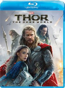Thor: The Dark World Blu-ray cover