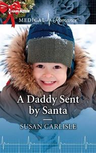 A Daddy Sent by Santa by Susan Carlisle Book Cover