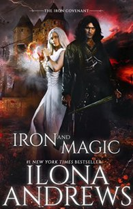 Iron and Magic by Ilona Andrews Book Cover