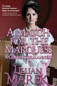 A Match for the Marquess by Lillian Marek book cover