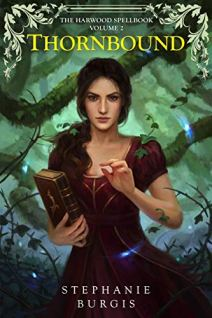 Thornbound by Stephanie Burgis book cover