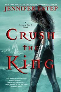 Crush the King by Jennifer Estep book cover