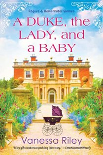 The Duke, The Lady, and A Baby by Vanessa Riley book cover
