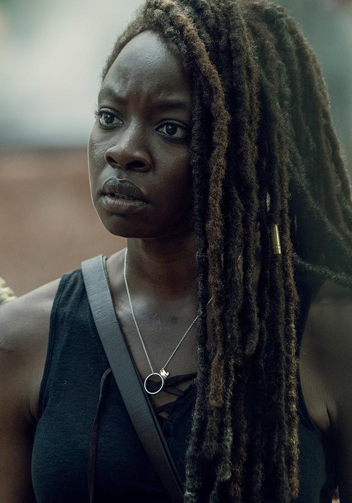 Michonne The Walking Dead : michonne, walking, Michonne, Danai, Gurira, Walking