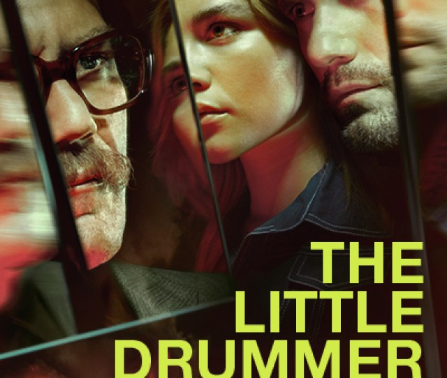 Little Drummer Girl Key Art Final Kurtz Shannon