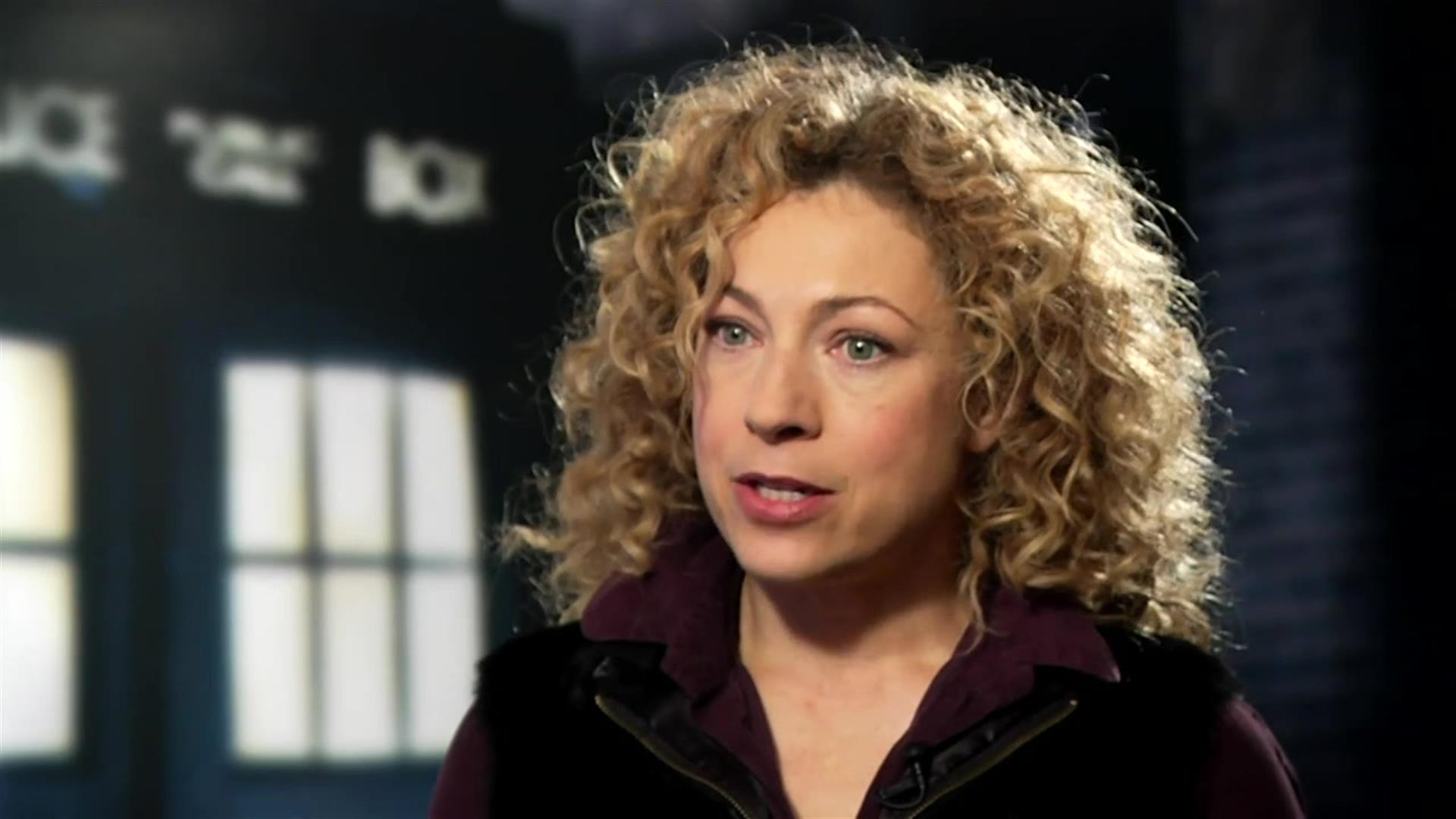 Alex Kingston (River Song)  Doctor Who  BBC America