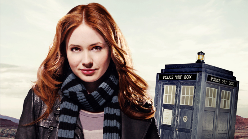 Image result for amy pond and the tardis