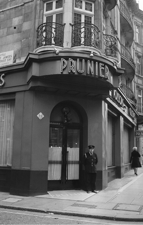 Image result for prunier restaurant london