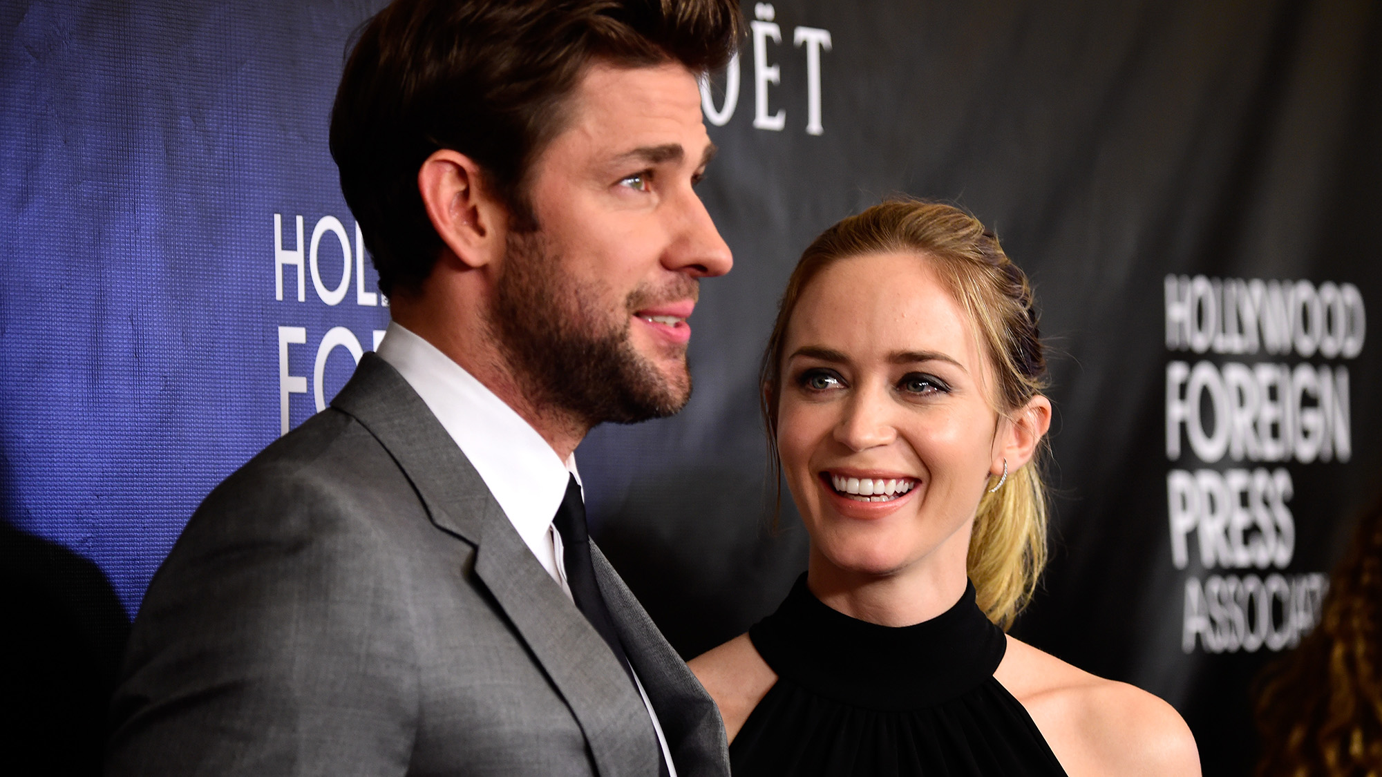 emily blunt amp john krasinski team for a quiet place 1